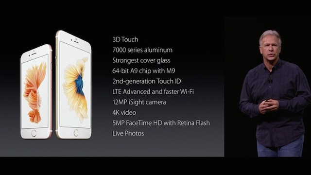 Apple Media Event September 9, 2015: iPhone 6s