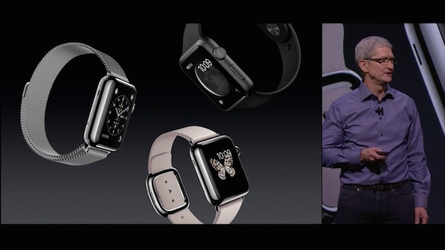 Apple Media Event September 9, 2015: Tim Cook presents new watches