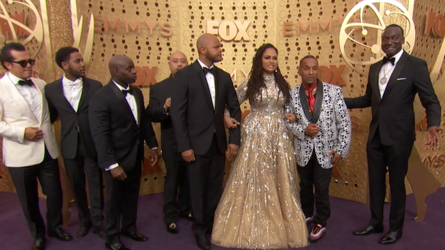 Ava DuVernay and Exonerated 5 at the Emmys in 2019