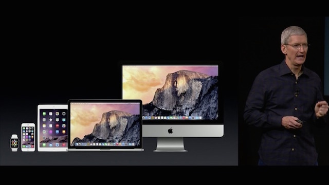 Yosemite - the new OS X