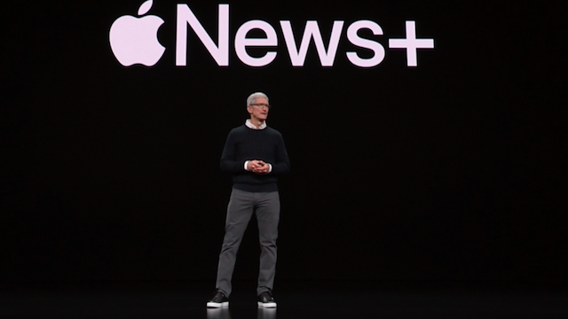 Tim Cook at Apple's It's Show Time event