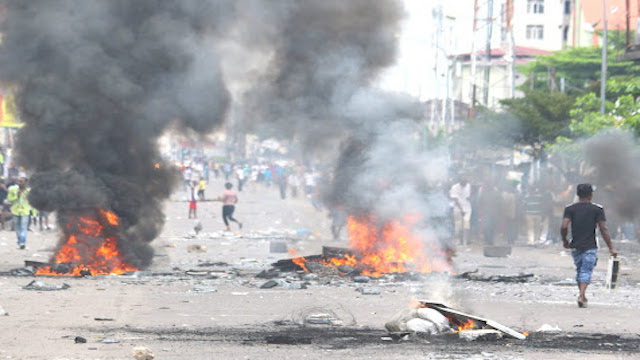 DRC Civil Riots on Sep 19-20, 2016