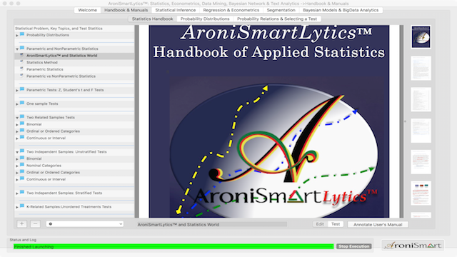 AroniSmartLytics™: Optimized User Interface