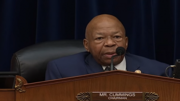 U.S. Rep. Elijah Cummings in Voting Rights Hearings, Feb 2019