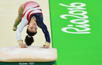 Rio 2016 in Pictures: August 9 2016; US Women Gymnastics Team and Serena Williams