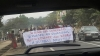 Congolese protest against Joseph Kabila whom they call  Hypolite Kanambe, a Rwandan operative