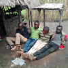 Suspected M23 rebels captured in Walendu on April 1, 2018