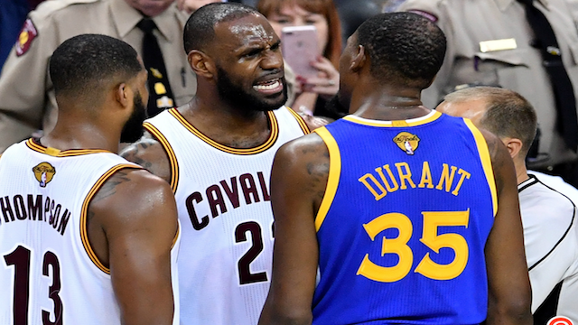 NBA 2017 Finals: LeBron James and Kevin Durant