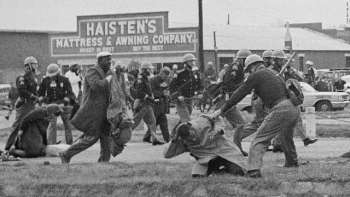 John Lewis beaten in Selma, Alabama in 1965